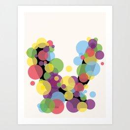 Rabbit Before Art Print