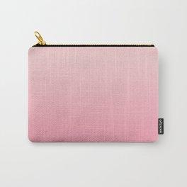 Ombré Millennial Pink Rose Quartz Rose Gold Pink Dogwood Carry-All Pouch