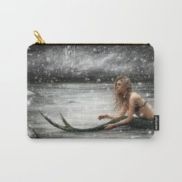 Winter Mermaid Carry-All Pouch