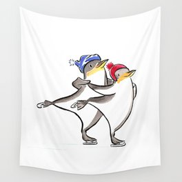 Winter Fun Wall Tapestry