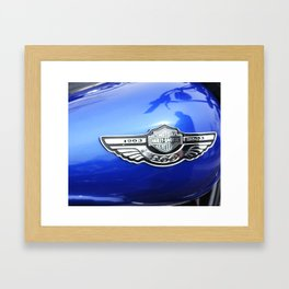 Waiting to Ride Framed Art Print