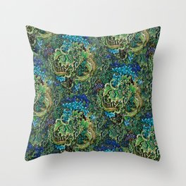 Immersive Pattern Throw Pillow