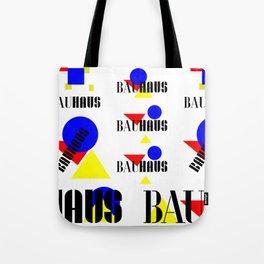 Bauhaus Geometric Shapes Tote Bag