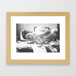 You dance in my head Framed Art Print
