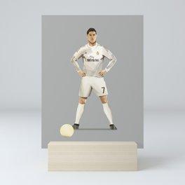 Ronaldo 7 - Football Free Kick Mini Art Print