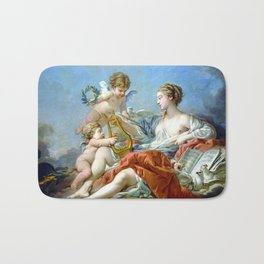 Allegory Of Music Bath Mat