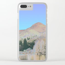 Chromascape 38 (highlands) Clear iPhone Case