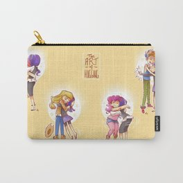 The Art of Hugging Carry-All Pouch