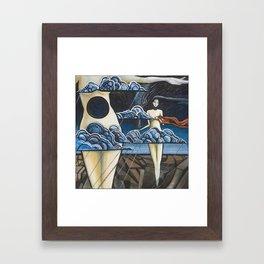 Stalling the Storm Framed Art Print