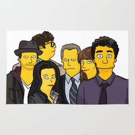Scorpion Simpsonized Rug