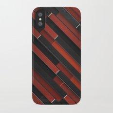 Maniac Pattern iPhone X Slim Case