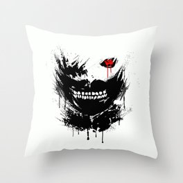 The Ghoul of Tokyo Throw Pillow