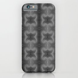 Varietile 37 B+W (Repeating 2) iPhone Case