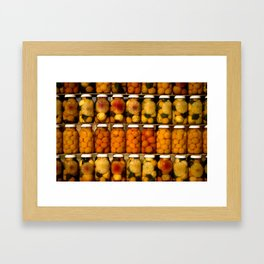 Sweet fruits Framed Art Print