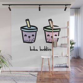 Boba Buddies Wall Mural