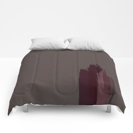 """Cherry / Rose Gold Porstroke (Pattern)"" Comforters"