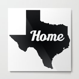 Home Texas Metal Print