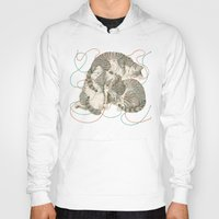 play Hoodies featuring cats by Laura Graves