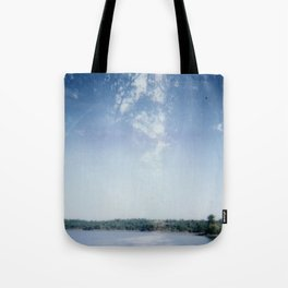 Out into the woods Tote Bag