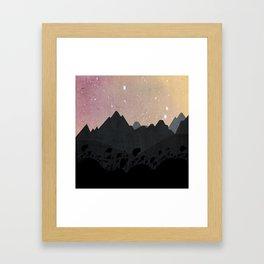 Olber, Invisible Stars Framed Art Print
