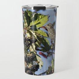 Female Purple Finch Travel Mug