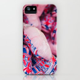 Texas Cotton Candy iPhone Case