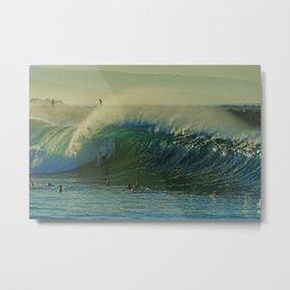 Offshores Blowing at the Wedge Metal Print