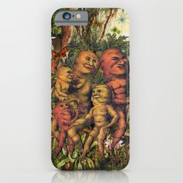 get back to your roots  iPhone Case