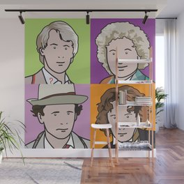 Doctors 5 to 8 Wall Mural