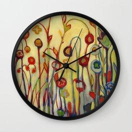 Unfolded Wall Clock