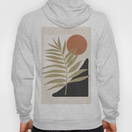 Tropical Leaf- Abstract Art 9 Hoody