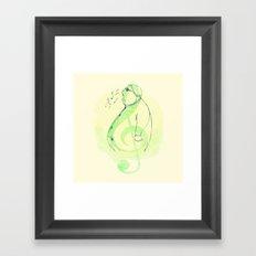 Color, Shape and Sound Framed Art Print