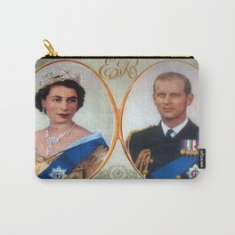 Queen Elizabeth 11 & Prince Philip in 1952 Carry-All Pouch