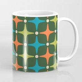 Mid Century Modern Star Pattern 934 Coffee Mug