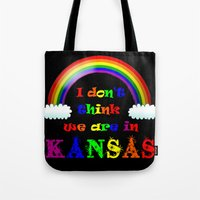 dorothy Tote Bags featuring Dorothy by SwanniePhotoArt
