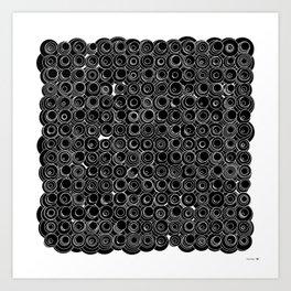 Sound Circles Art Print