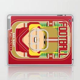 American Football Red and Gold - Hail-Mary Blitzsacker - Hazel version Laptop & iPad Skin