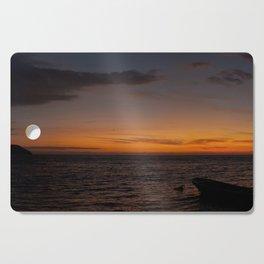 Panoramic Sunset Cutting Board