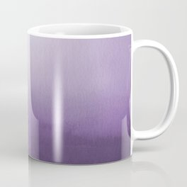 Inspired by Pantone Chive Blossom Purple 18-3634 Watercolor Abstract Art Coffee Mug