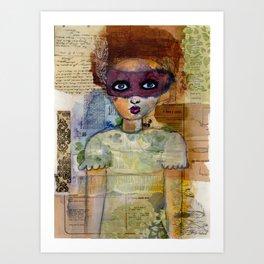 Phantoms' Girl Art Print
