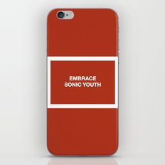 Embrace Sonic Youth iPhone & iPod Skin