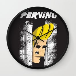 The Perving Wall Clock