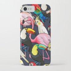 Exotic Bird Tropical Pattern Slim Case iPhone 7