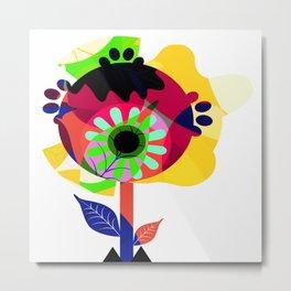 Fleurs 03 Metal Print