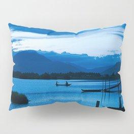 BLUE VIETNAMESE MEDITATION Pillow Sham
