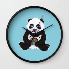 Panda's Birthday Wall Clock