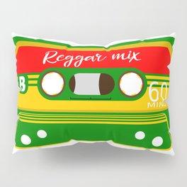REGGAE MIX TAPE Pillow Sham