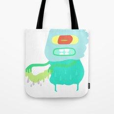 Drip monster Tote Bag