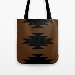 Geometric Southwestern Minimalism - Desert Orange Tote Bag