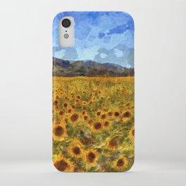 Vincent Van Gogh Sunflowers iPhone Case
